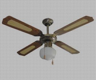 Ventilador de techo Vinco de 3 velocidades con selector de